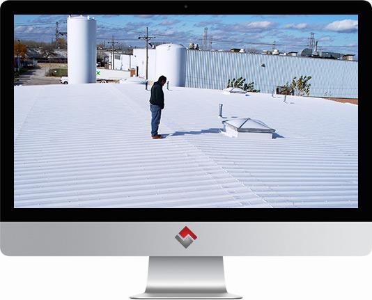 Commercial Roof Liquid Coatings