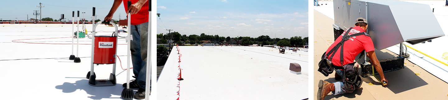 Tpo Amp Pvc Roofing Systems Roofing Solutions Llc